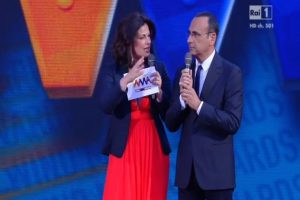 Wind Music Awards Vanessa incontrada incinta