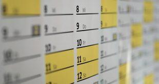 calendario ponti festività ferie